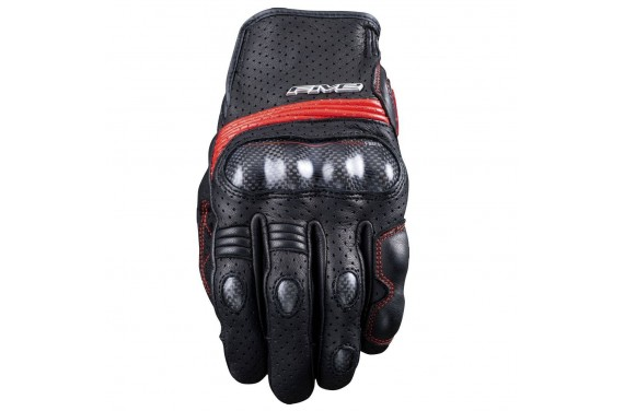 FIVE SPORT CITY S GLOVE BLACK/RED