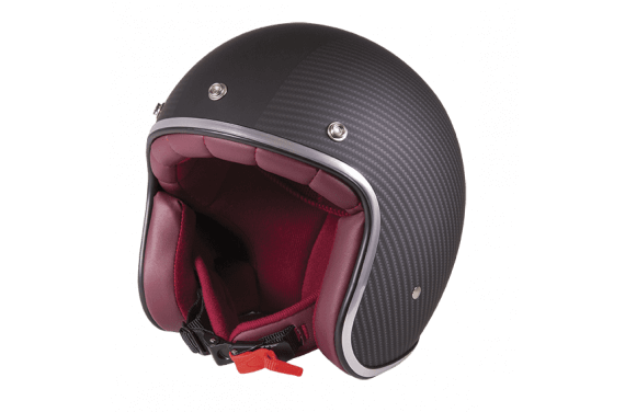 STORMER CASQUE JET PEARL CARBONE