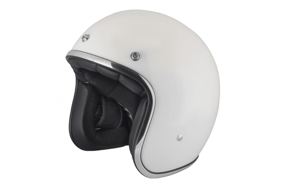 STORMER CASQUE JET PEARL BLANC