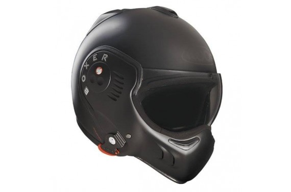 ROOF Casque modulable BOXER V8 Noir Mat FULL BLACK