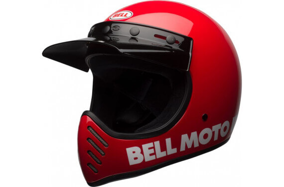 BELL CASQUE INTÉGRAL MOTO-3 CLASSIC ROUGE