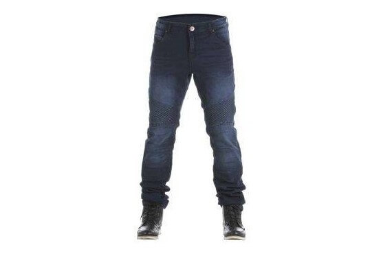 CASTEL DARK WASHED JEANS MAN Homologated All Road