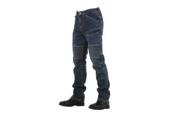 ROAD SMALT MAN JEANS Homologated Urban