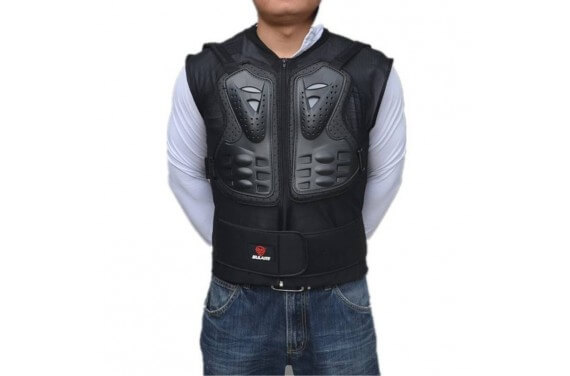 Dorsale Gilet de Protection Motard CE