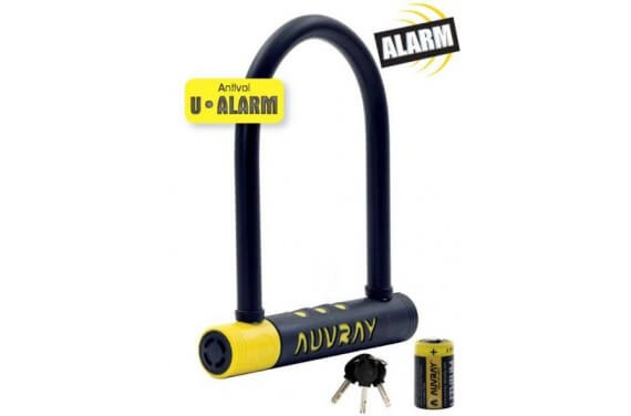 AUVRAY U ALARME 90 X 210 AVEC SUPPORT D. 14