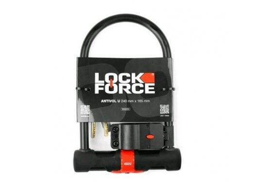 ACSUD ANTIVOL U LOCKFORCE HERCULE 240 X 165 + SUPPORT