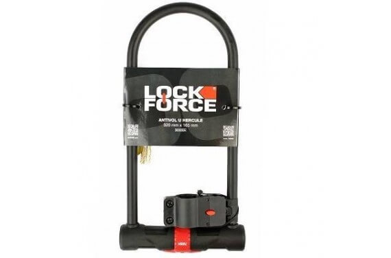 ACSUD ANTIVOL U LOCKFORCE HERCULE 320 X 165 + SUPPORT