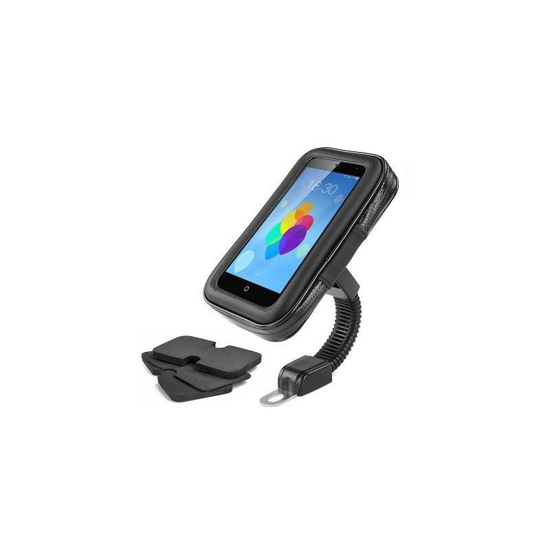 Support universel impermeable pour smartphone / gps adapt scooter / moto