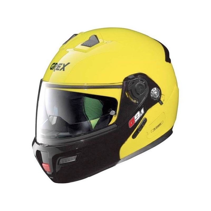 CASQUE GREX MODULABLE G9.1 EVOLVE COUPLE N-COM LED YELLOW