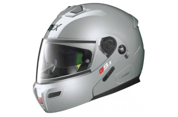 CASQUE GREX MODULABLE G9.1 EVOLVE KINETIC N-COM METAL SILVER