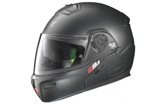 CASQUE GREX MODULABLE G9.1 EVOLVE KINETIC N-COM BLACK GRAPHITE