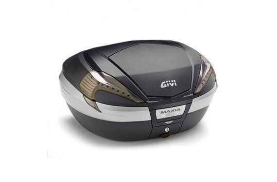 GIVI TOP CASE 56LT MKEY NOIR + CAR + CATA FUMES