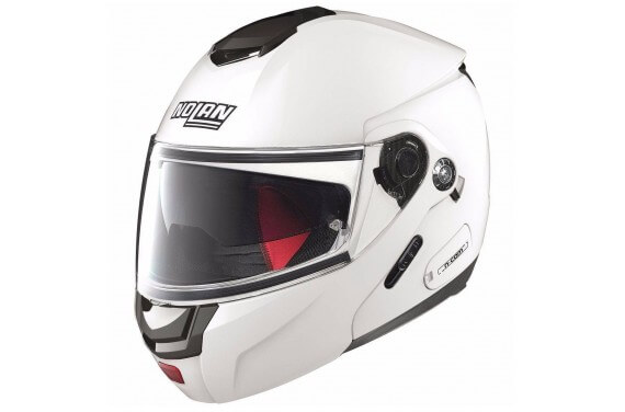 NOLAN CASQUE MODULABLE N90.2 SPECIAL N-COM PURE WHITE