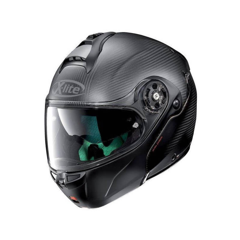 X-LITE CASQUE MODULABLE X1004 ULTRA CARBON DYAD FLAT BLACK