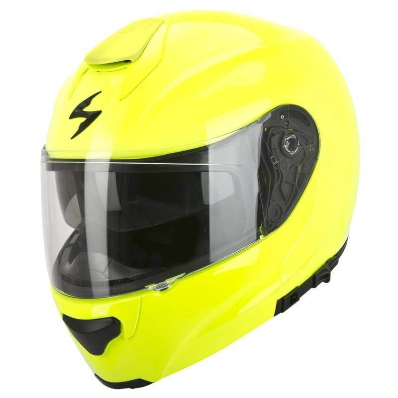 SCORPION CASQUE MODULABLE EXO-3000 AIR Solid Neon Yellow