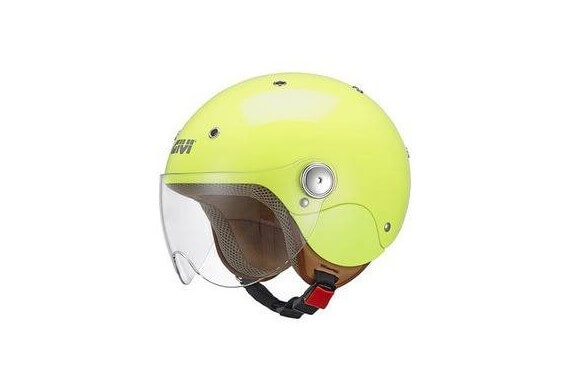 GIVI CASQUE JUNIOR 3 HELMET GLOSS YELLOW FLUO