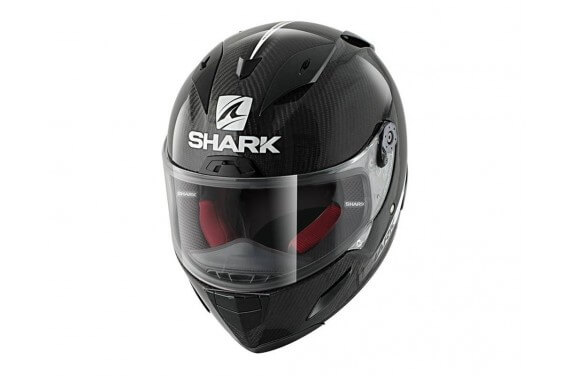 SHARK Casque RACE-R PRO CARBON SKIN WHITE BLACK