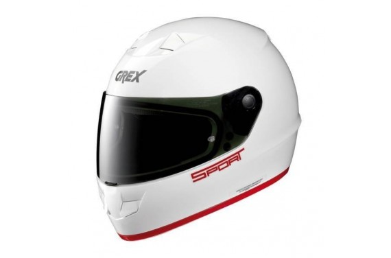 CASQUE GREX INTEGRAL G6.1 K-SPORT METAL WHITE
