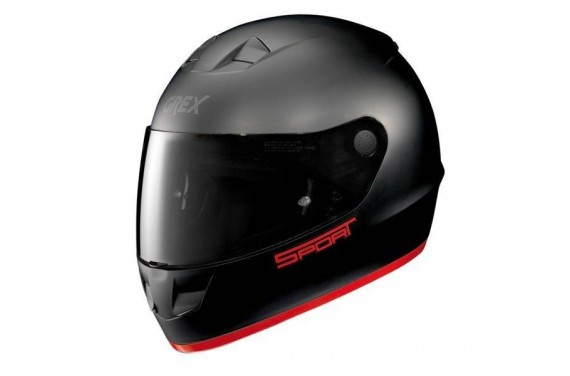 CASQUE GREX INTEGRAL G6.1 K-SPORT FLAT BLACK/RED