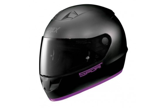 CASQUE GREX INTEGRAL G6.1 K-SPORT FLAT BLACK/PURPLE