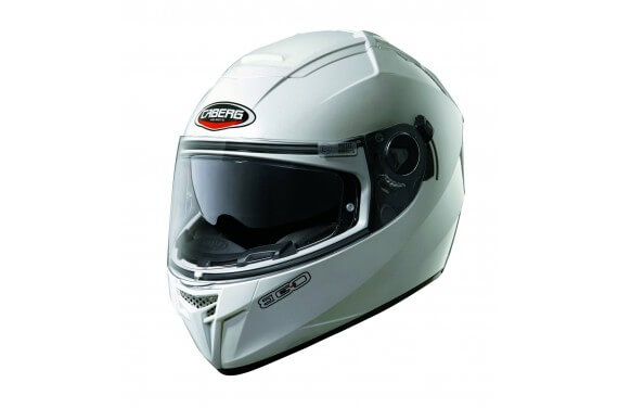 CABERG CASQUE INTEGRAL EGO UNI BLANC METALISE