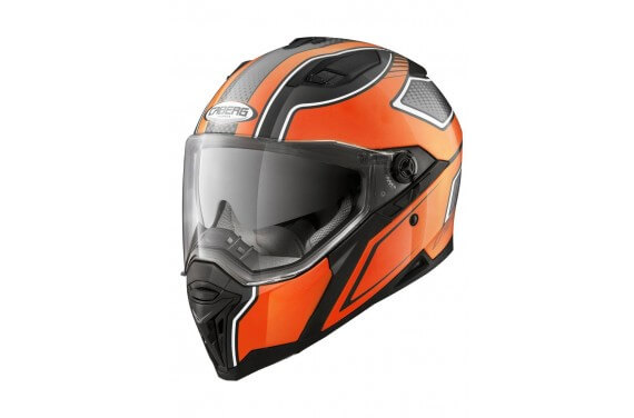 CABERG CASQUE INTEGRAL STUNT BLADE NOIR BRILLANT/ORANGE