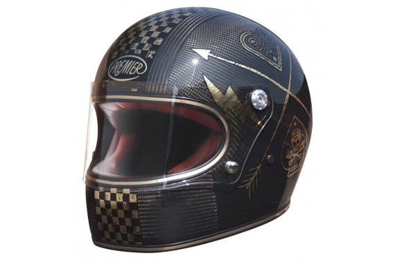 PREMIER CASQUE INTEGRAL TROPHY CARBON NX GOLD CHROMED