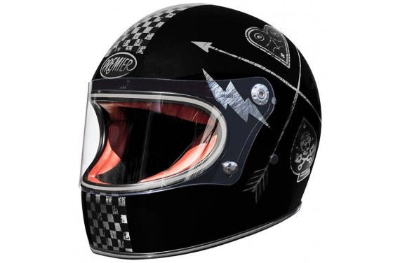 PREMIER CASQUE INTEGRAL TROPHY NX SILVER CHROMED