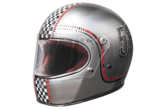 PREMIER CASQUE INTEGRAL TROPHY FL CHROMED OLD STYLE
