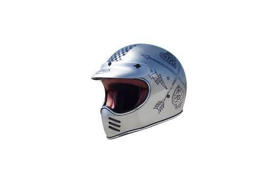 PREMIER CASQUE INTEGRAL MX NX OLD STYLE CHROMED