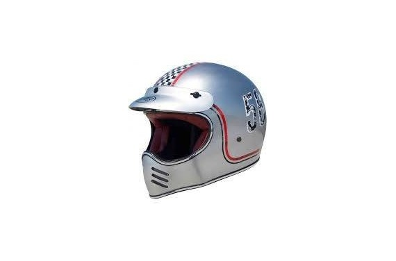 PREMIER CASQUE INTEGRAL MX FL OLD STYLE CHROMED