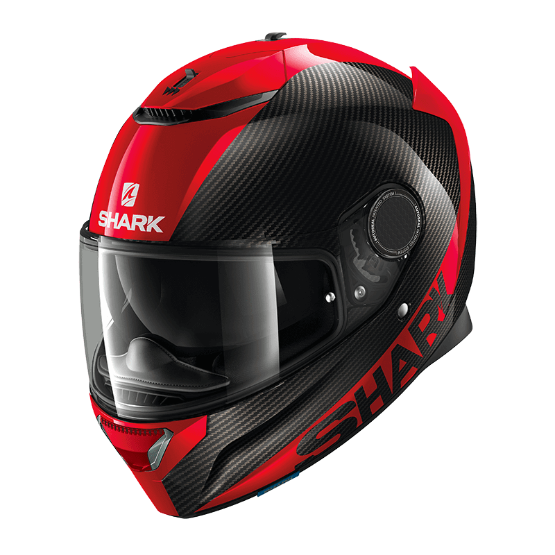 SHARK CASQUE INTEGRAL SPARTAN CARB 1.2 SKIN CARBON RED