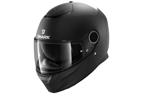 SHARK CASQUE INTEGRAL SPARTAN 1.2 BLANK BLACK MAT