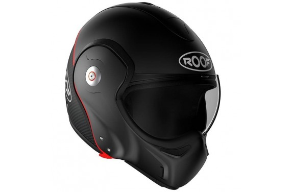 ROOF Casque modulable BOXXER CARBON NOIR BLACK MAT