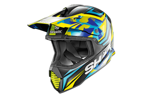 SHARK CASQUE INTEGRAL CROSS VARIAL TIXIER BLACK BLUE YELLOW