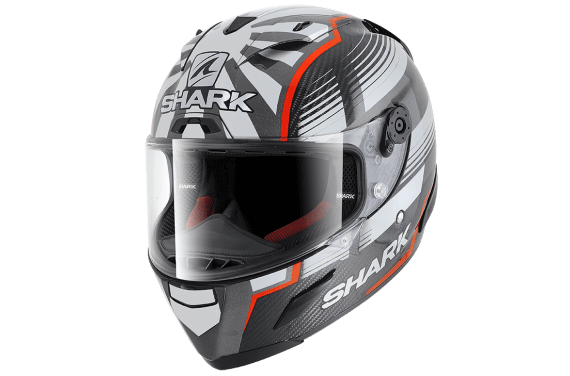 SHARK CASQUE INTEGRAL RACE-R PC ZARCO MALAYS. GP CARBON RED ANTHRA