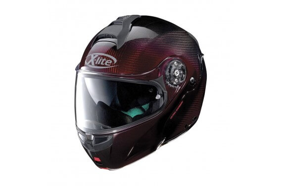 X-LITE CASQUE MODULABLE X1004 ULTRA CARBON NUANCE RED
