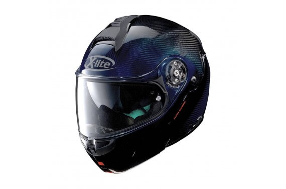 X-LITE CASQUE MODULABLE X1004 ULTRA CARBON NUANCE BLUE
